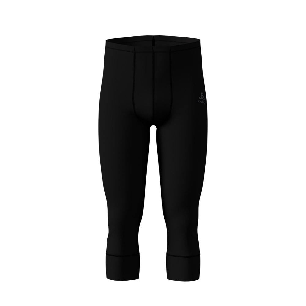 Odlo Active Originals Warm Mens Pants 3/4 Black 2019
