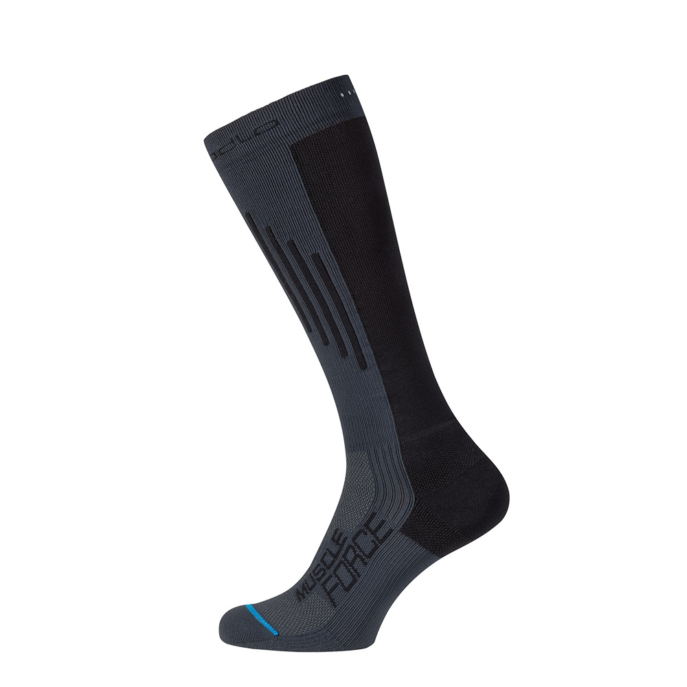 Odlo Muscle Force Light Socks Odlo Graphite Grey / Black 2019
