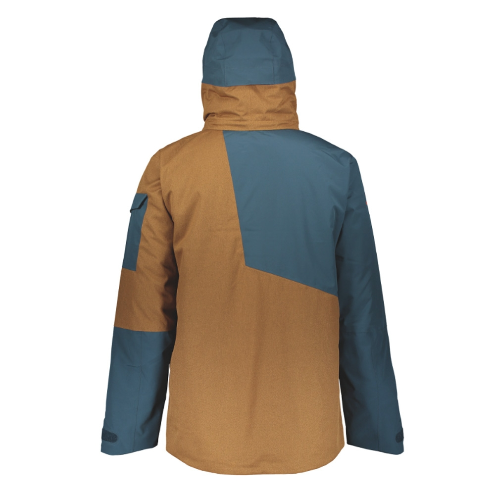 Scott Ultimate Dryo 30 Jacket Nightfall Blue/Tobacco Brown Oxford 2019
