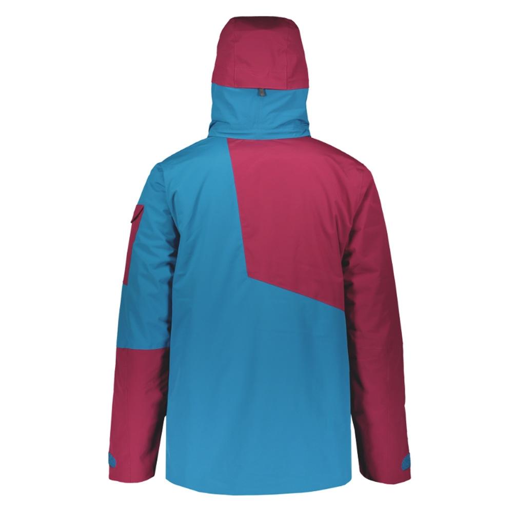 Scott Ultimate Dryo 30 Jacket Biking Red/Mykonos Blue 2019