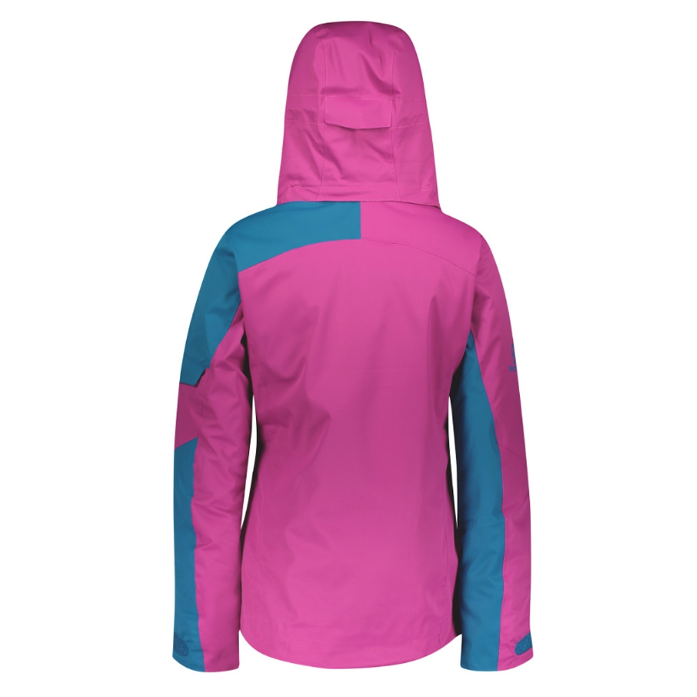 Scott Ultimate Dryo 30 Womens Jacket Mykonos Blue/Festival Purple 2019