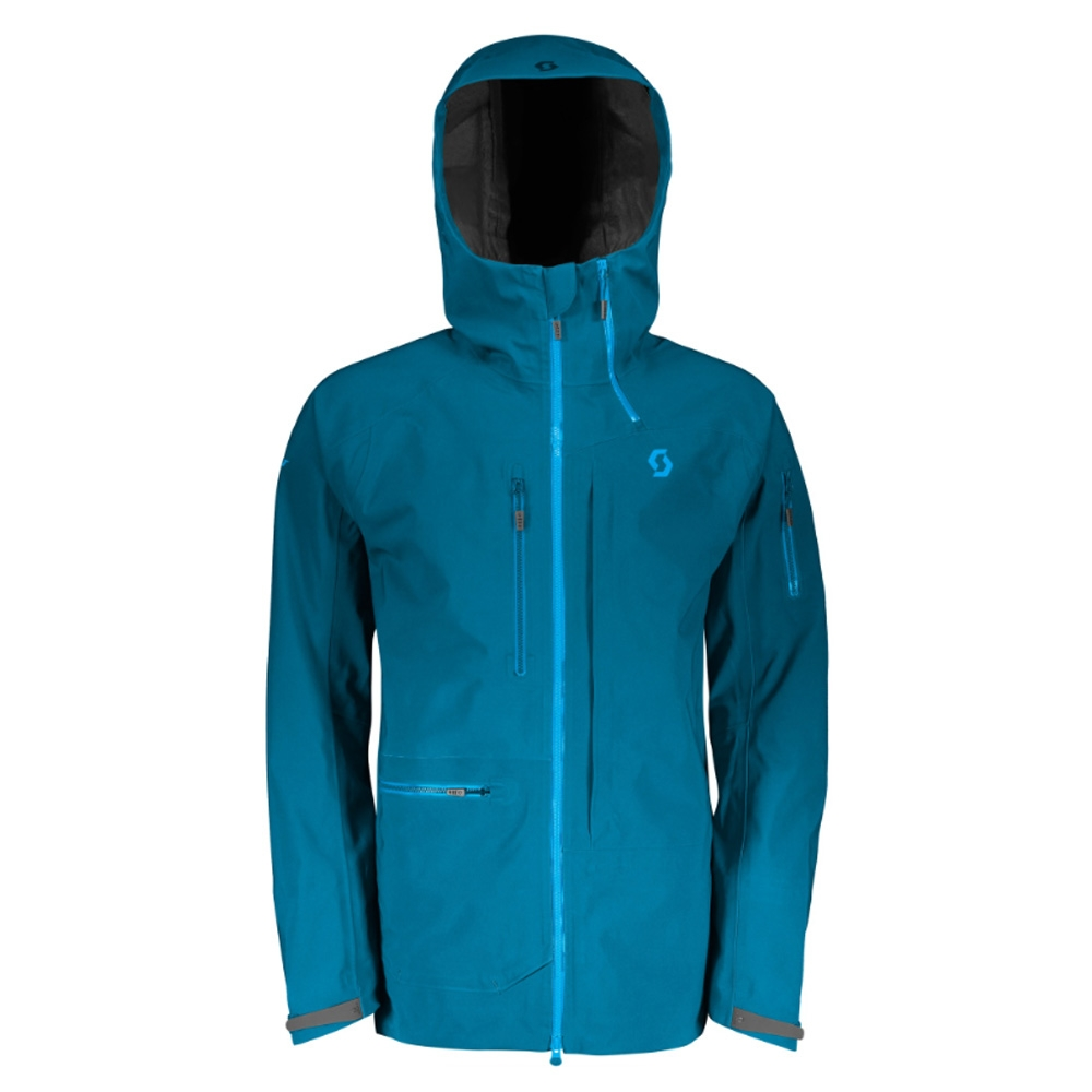 Scott Vertic GTX 3L Jacket Lunar Blue 2019