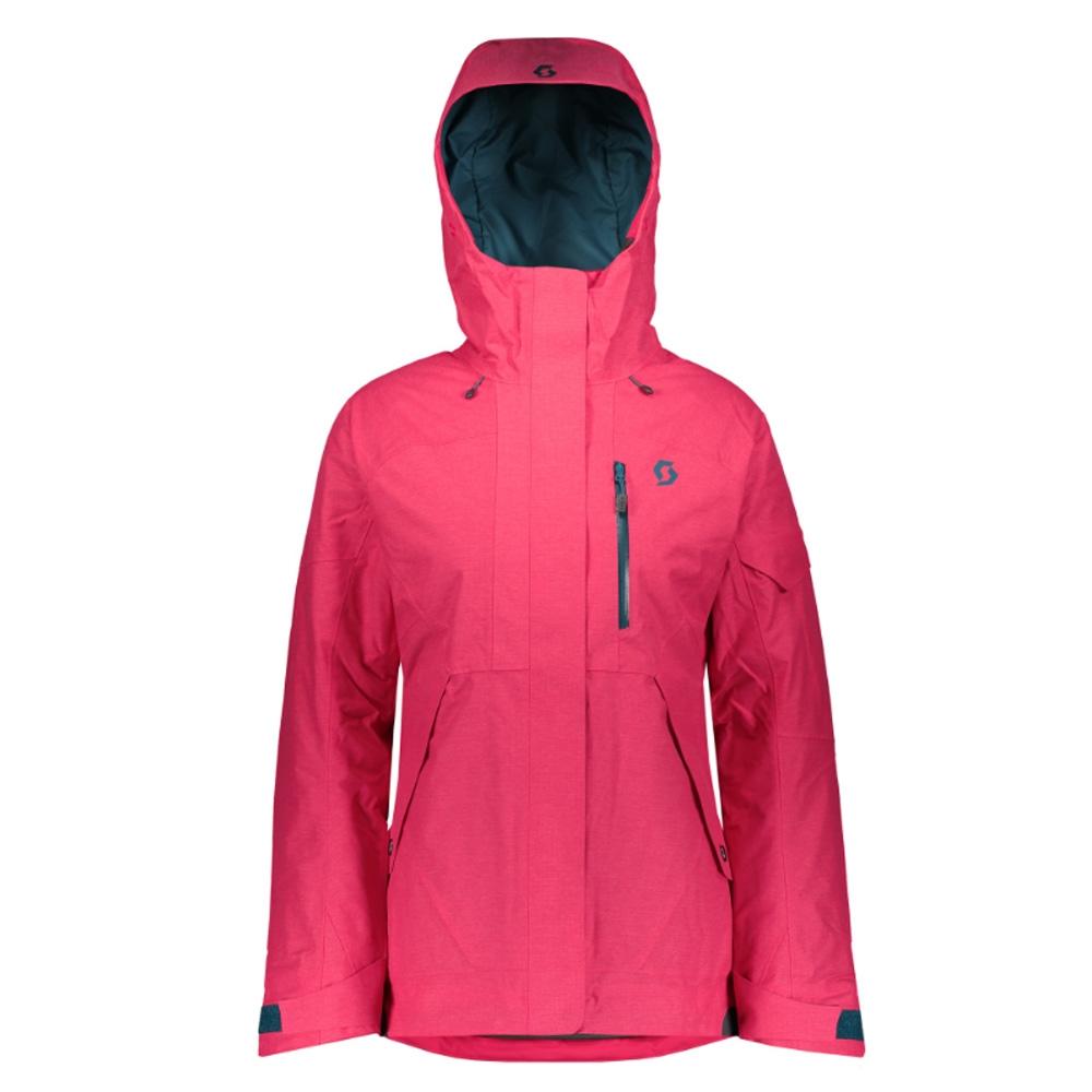 Scott Vertic 3 in 1 Womens Jacket Hibiscus Red 2019