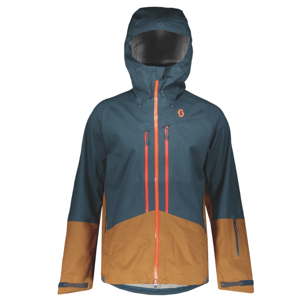 Scott Explorair 3L Jacket Nightfall Blue/Tobacco Brown 2019