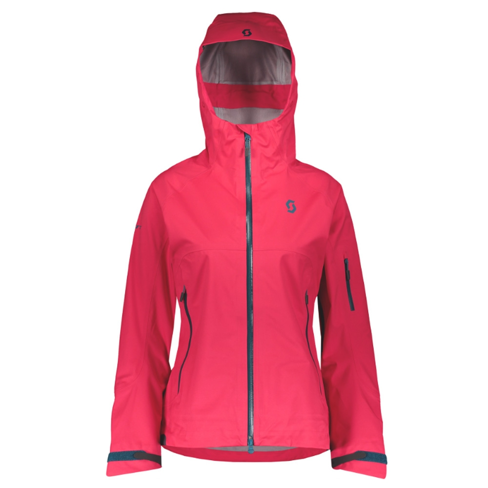 Scott Explorair 3L Womens Jacket Hibiscus Red 2019