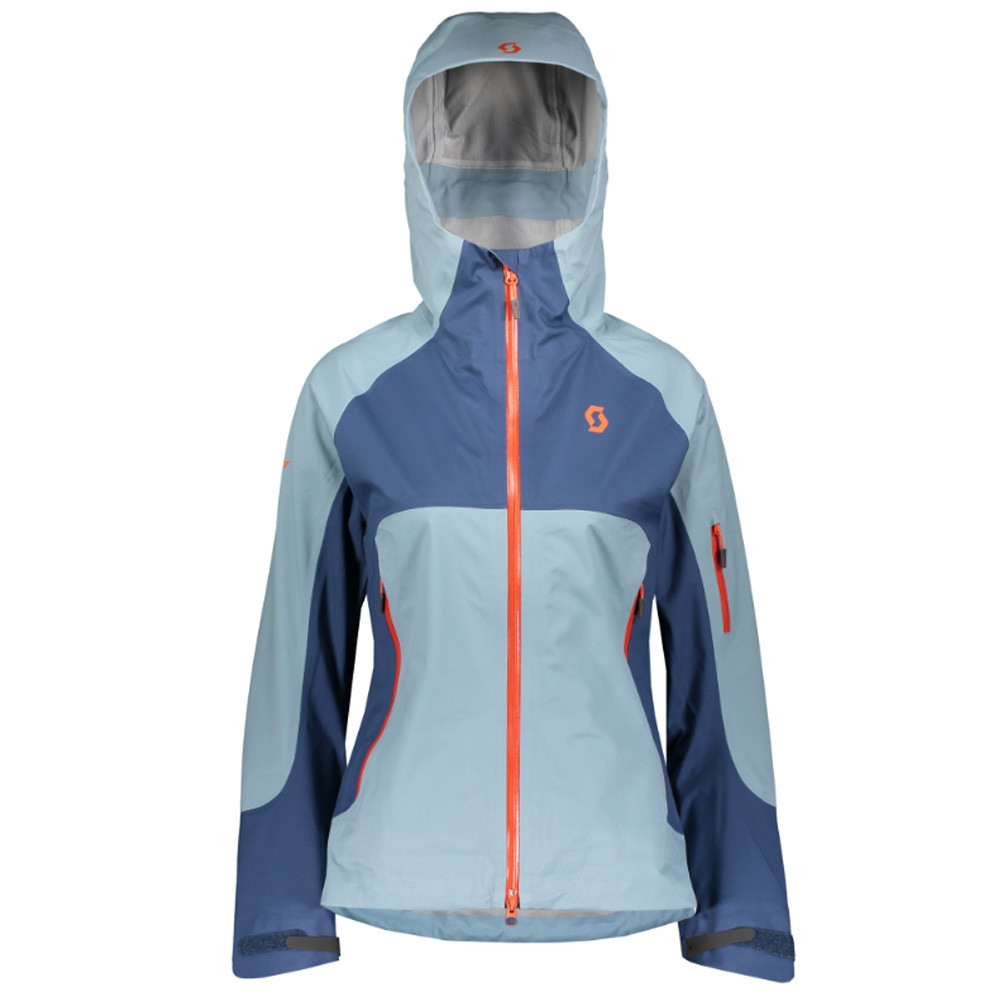 Scott Explorair 3L Womens Jacket Blue Haze/Denim Blue 2019