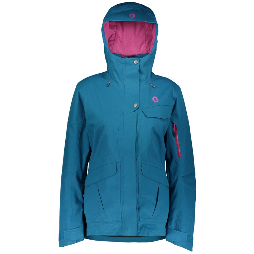 Scott Ultimate Dryo 20 Womens Jacket Mykonos Blue Oxford 2019
