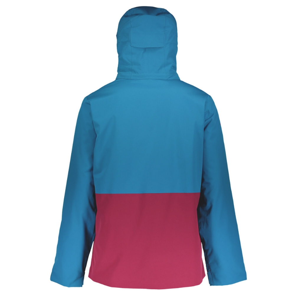 Scott Ultimate Dryo 40 Jacket Mykonos Blue/Biking Red 2019