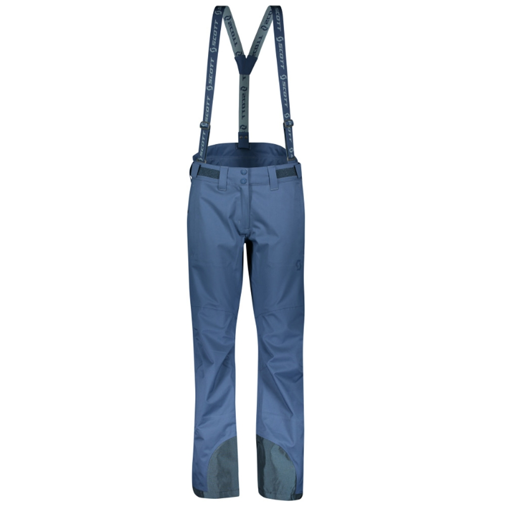 Scott Explorair 3L Womens Pant Denim Blue 2019