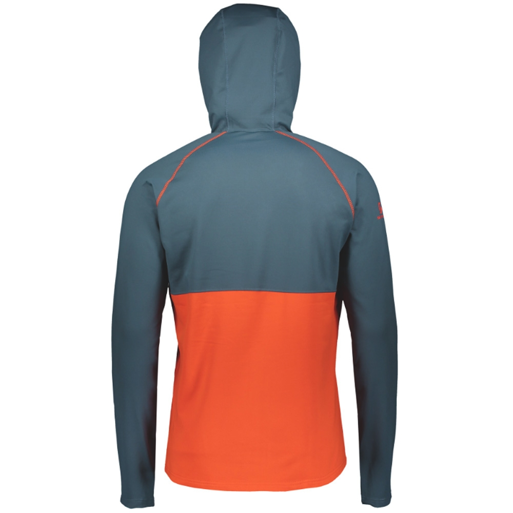 Scott Defined Mid Pullover Nightfall Blue/Tangerine Orange 2019