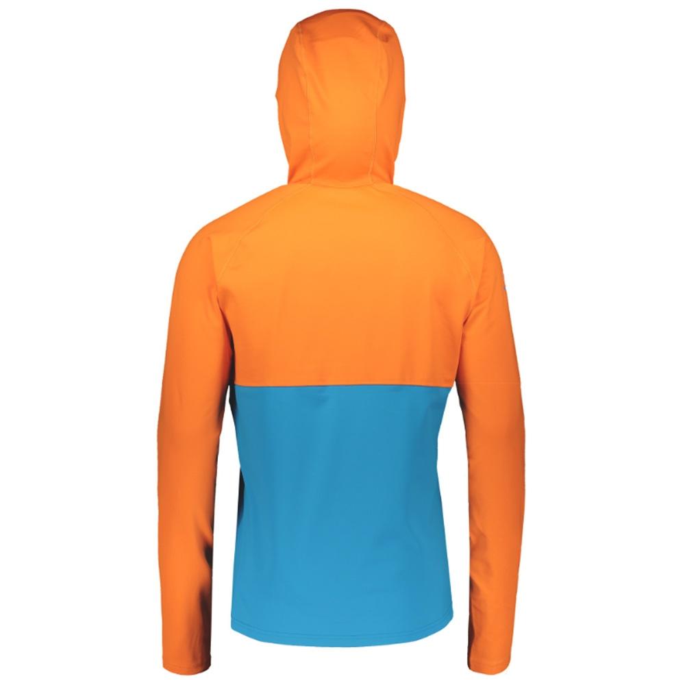 Scott Defined Mid Pullover Sunset Orange/Racer Blue 2019