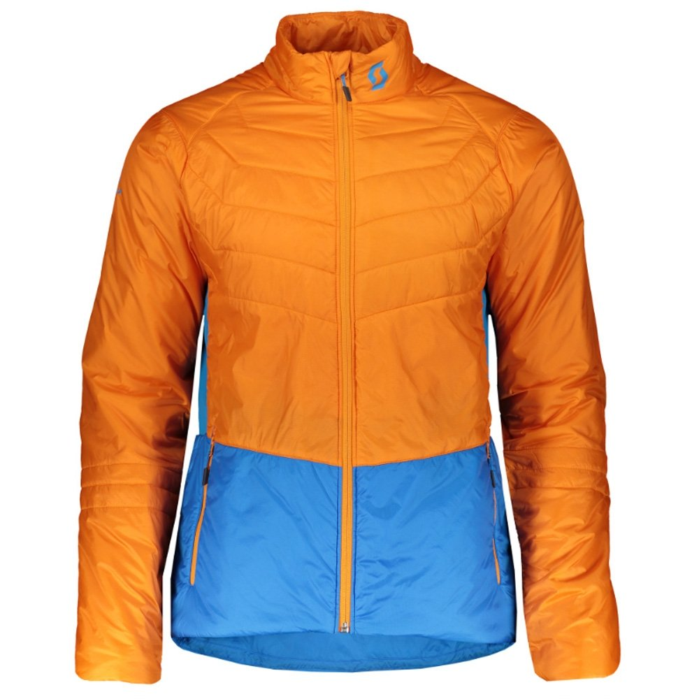 Scott Insuloft Light Jacket Sunset Orange/Racer Blue 2019