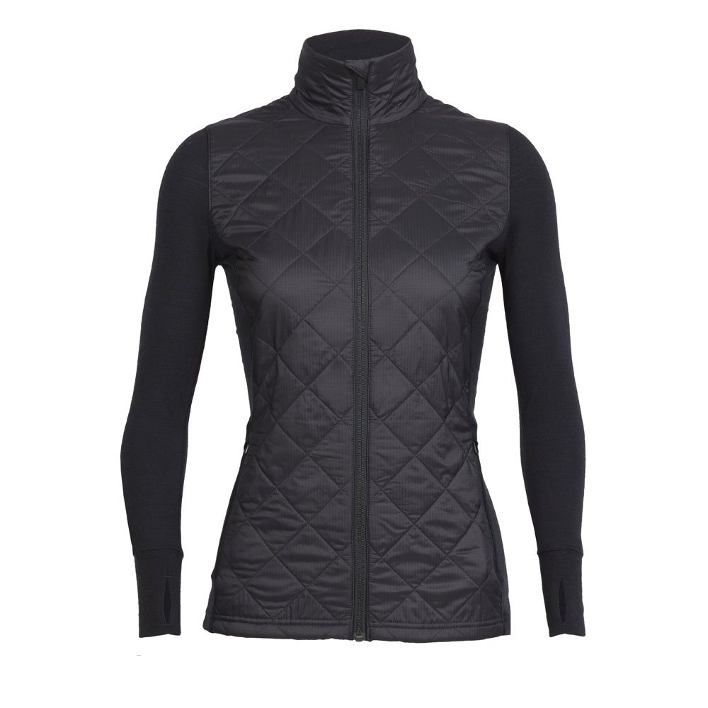 Icebreaker Womens Ellipse Jacket Black 2018