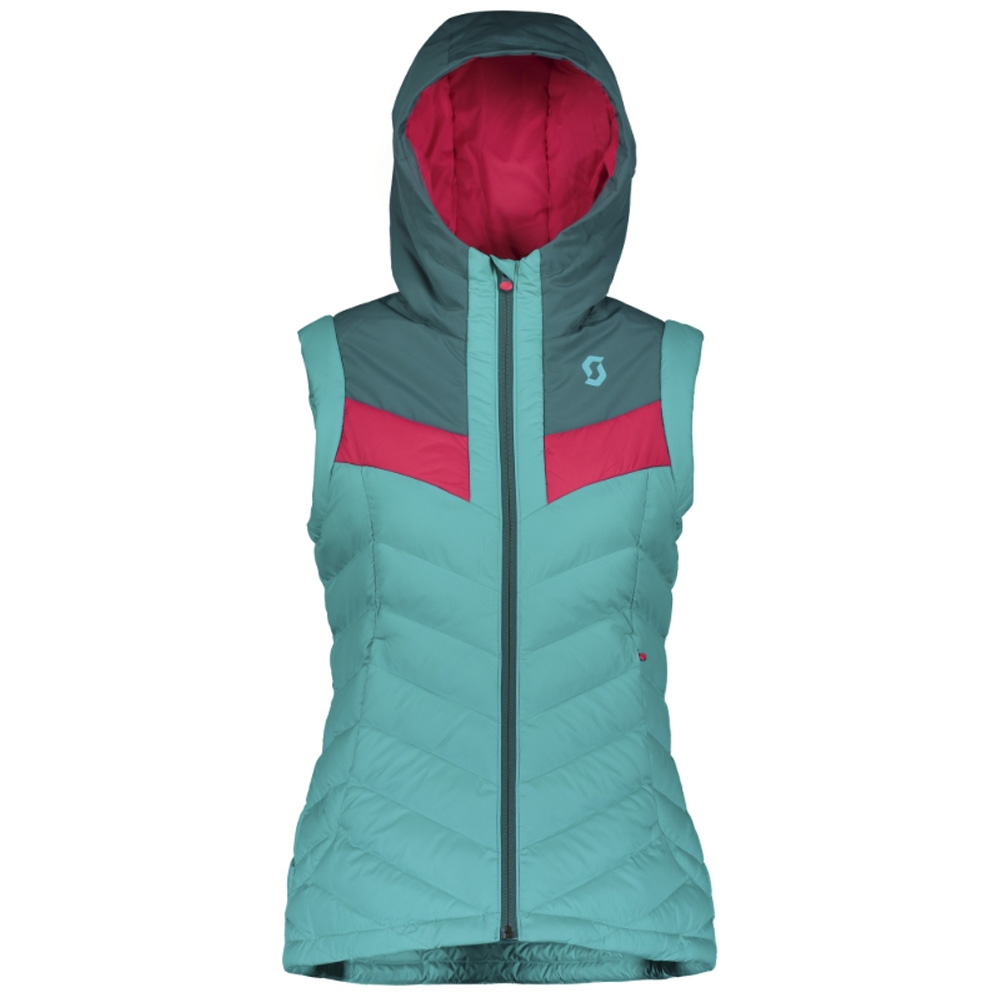 Scott Insuloft 3M Womens Vest Dragonfly Green/Sky Blue 2019