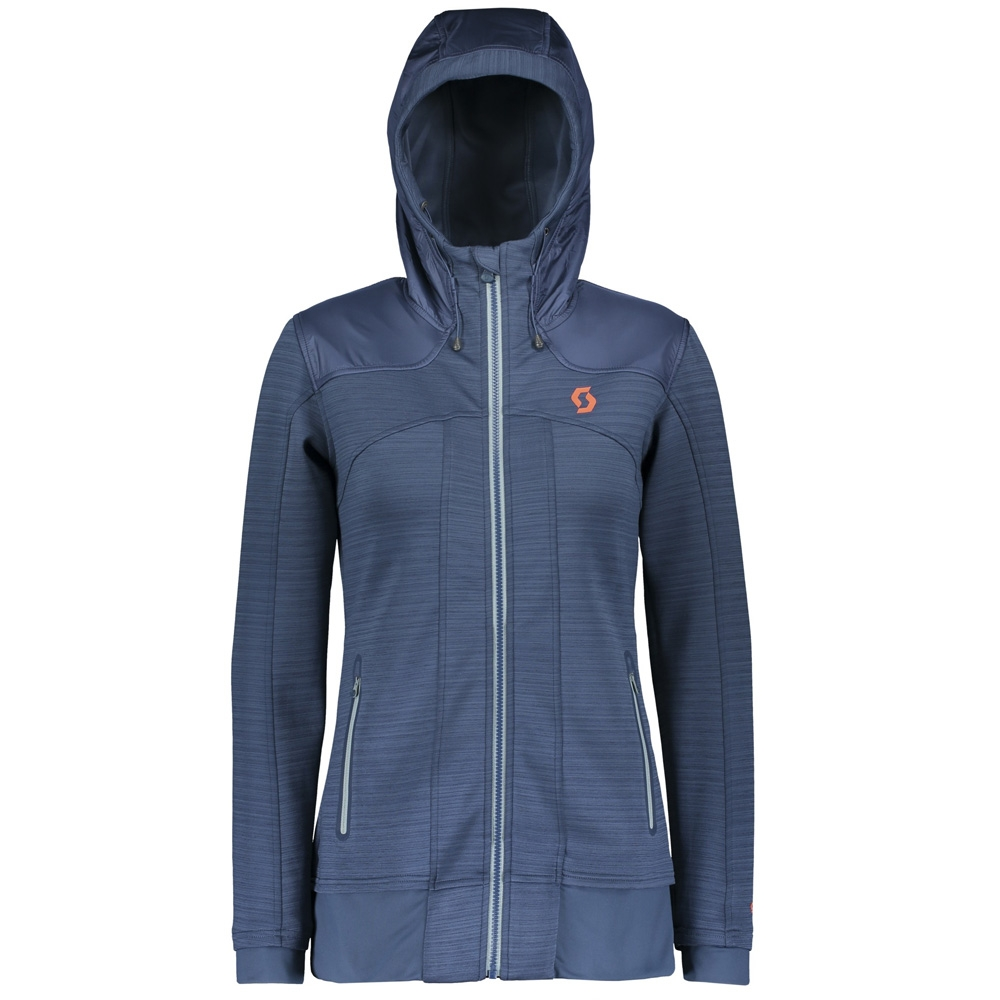 Scott Defined Channel Flow Womens Jacket Denim Blue 2019
