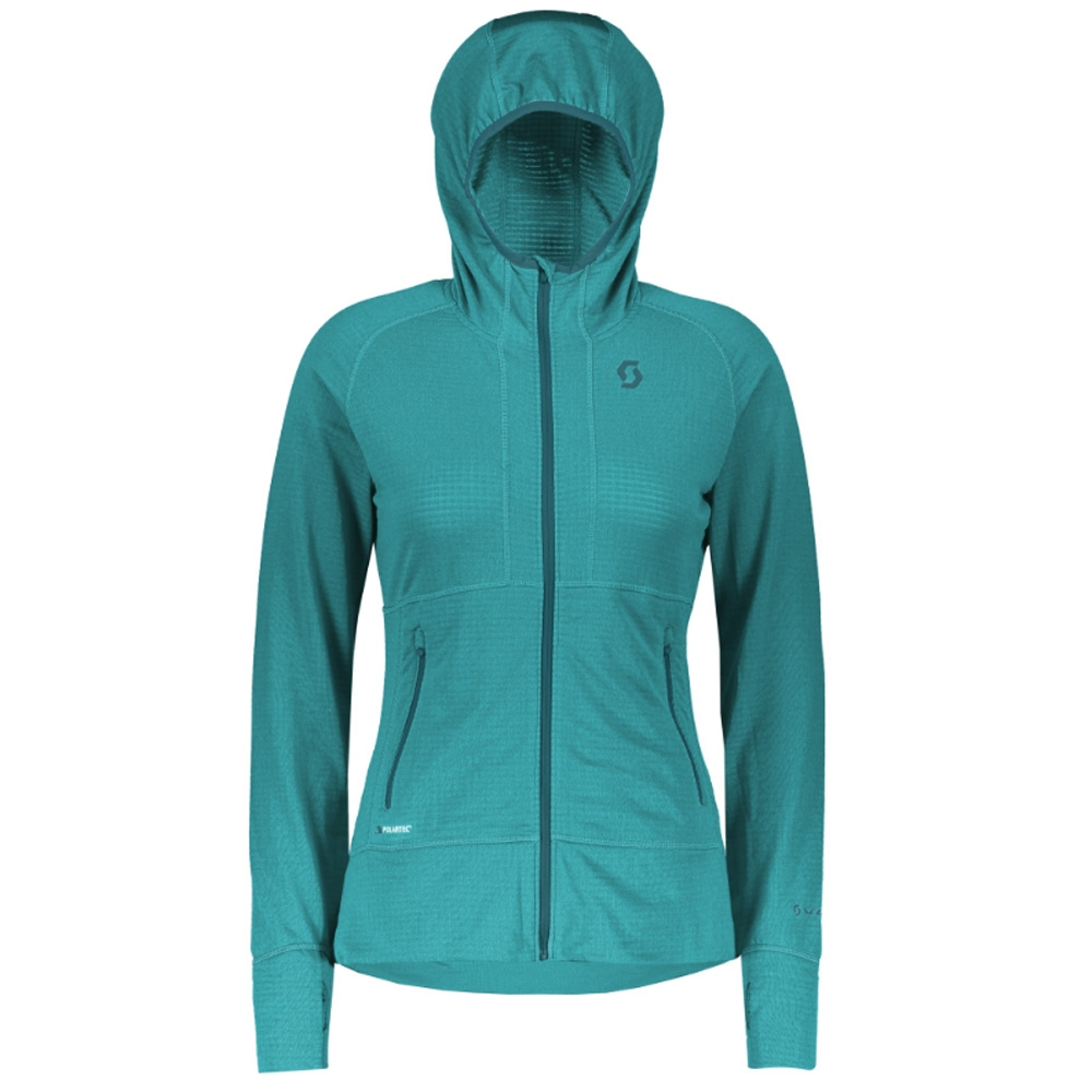 Scott Defined Polar Womens Jacket Sky Blue 2019