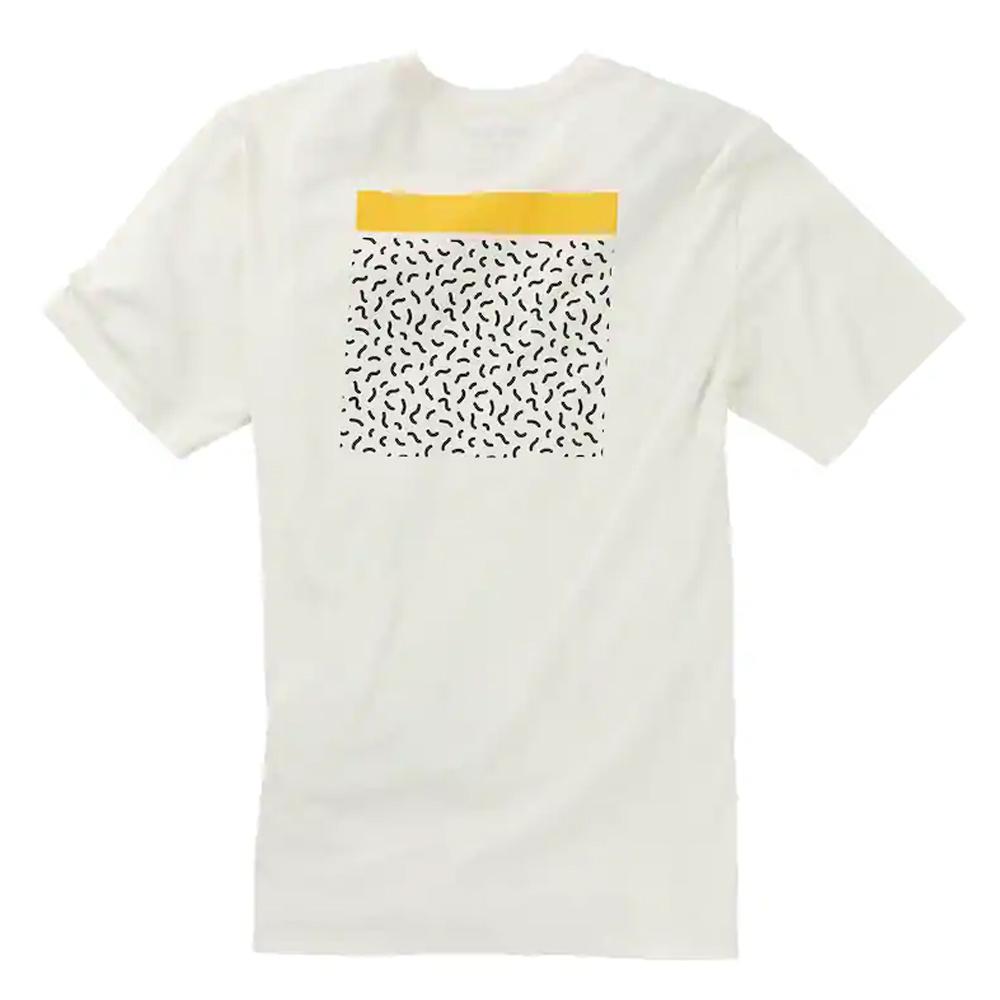 Burton Deep Thinker Short Sleeve Tee Stout White 2019
