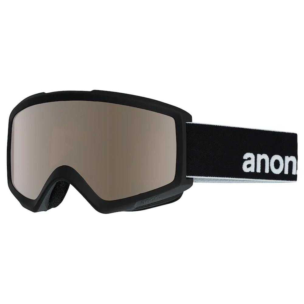 Anon Helix 2 0 Black Goggle Silver Amber w/spare 2019