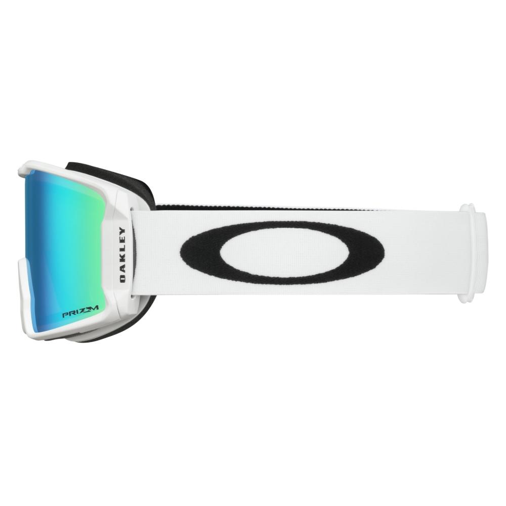 Oakley Line Miner XM Matte White Goggle with Prizm Jade Lens 2019