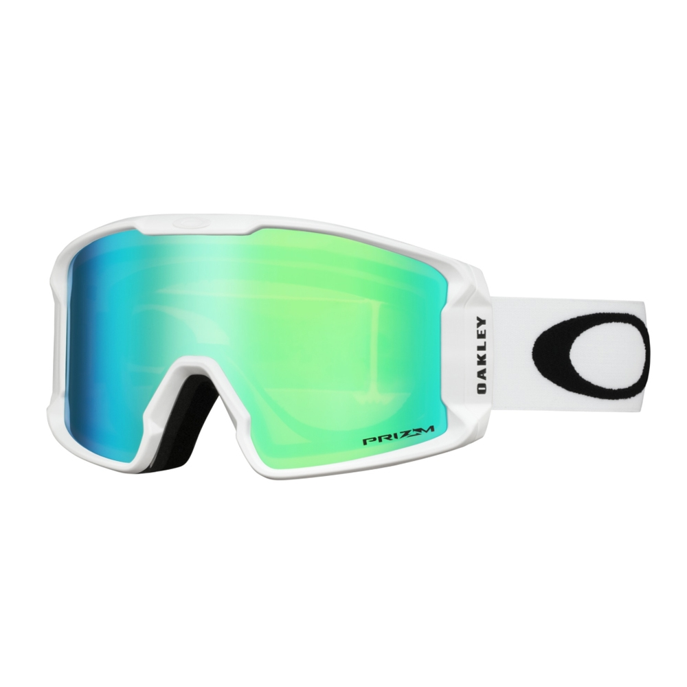 Oakley Line Miner XM Matte White Goggle with Prizm Jade Lens 2019 ... 04bb21a676