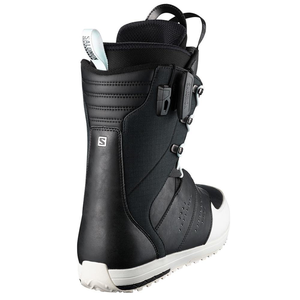 Salomon Launch Lace Str8Jacket Boots Black 2019