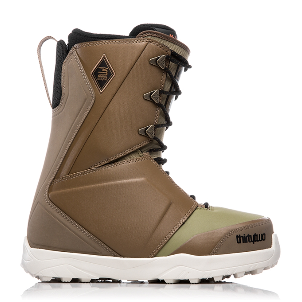 ThirtyTwo Lashed Bradshaw Snowboard Boot Brown/Green 2019