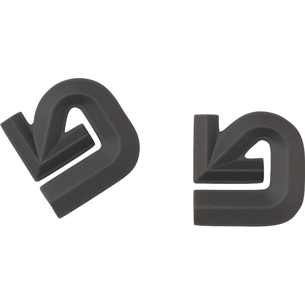 Burton Aluminum Logo Mats Black 2018