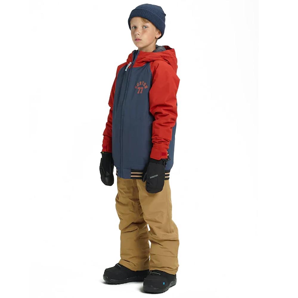 Burton Boys Gameday Jacket Mood Indigo / Bitters 2019