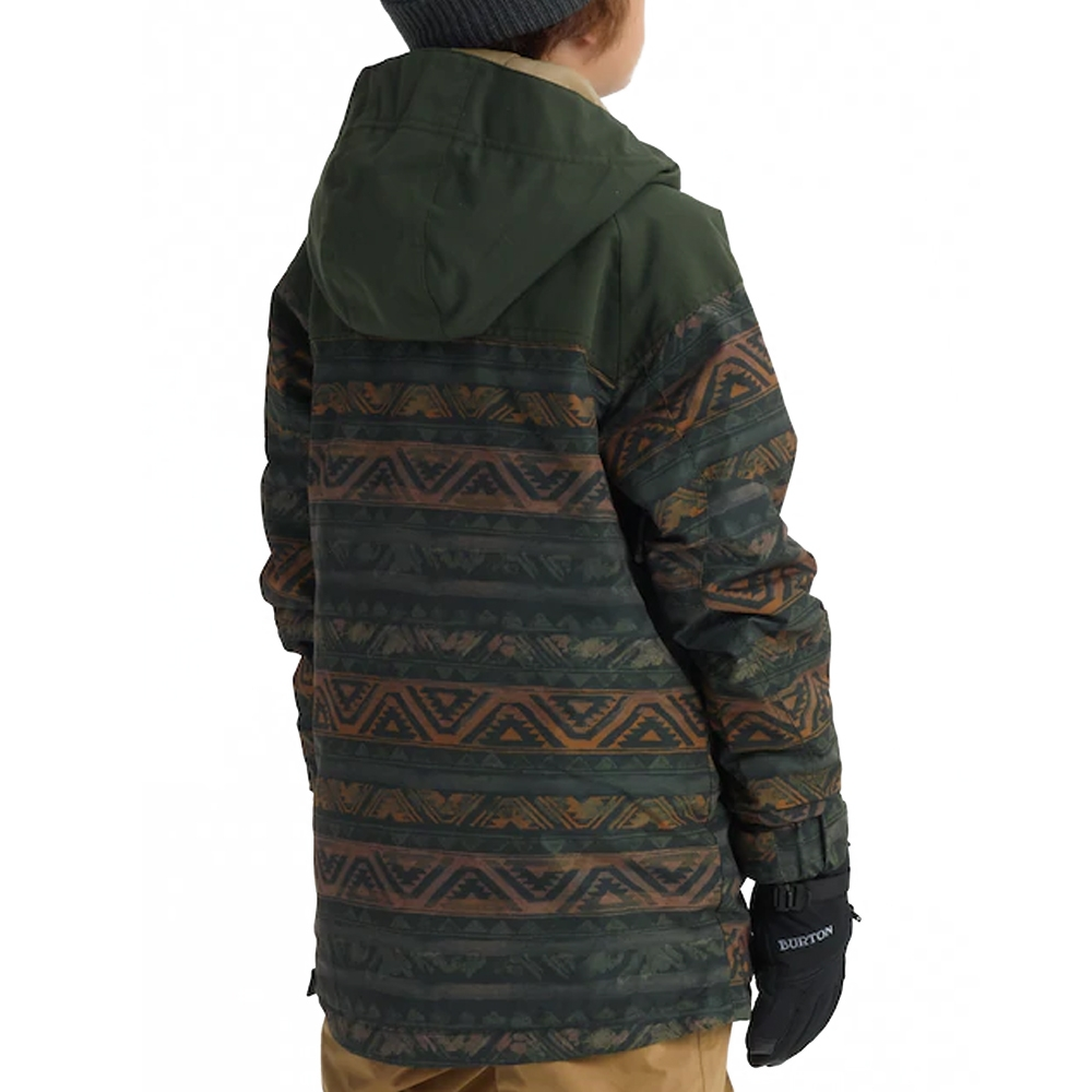 Burton Boys Hightrack Anorak Resin Chimayo Remix 2019