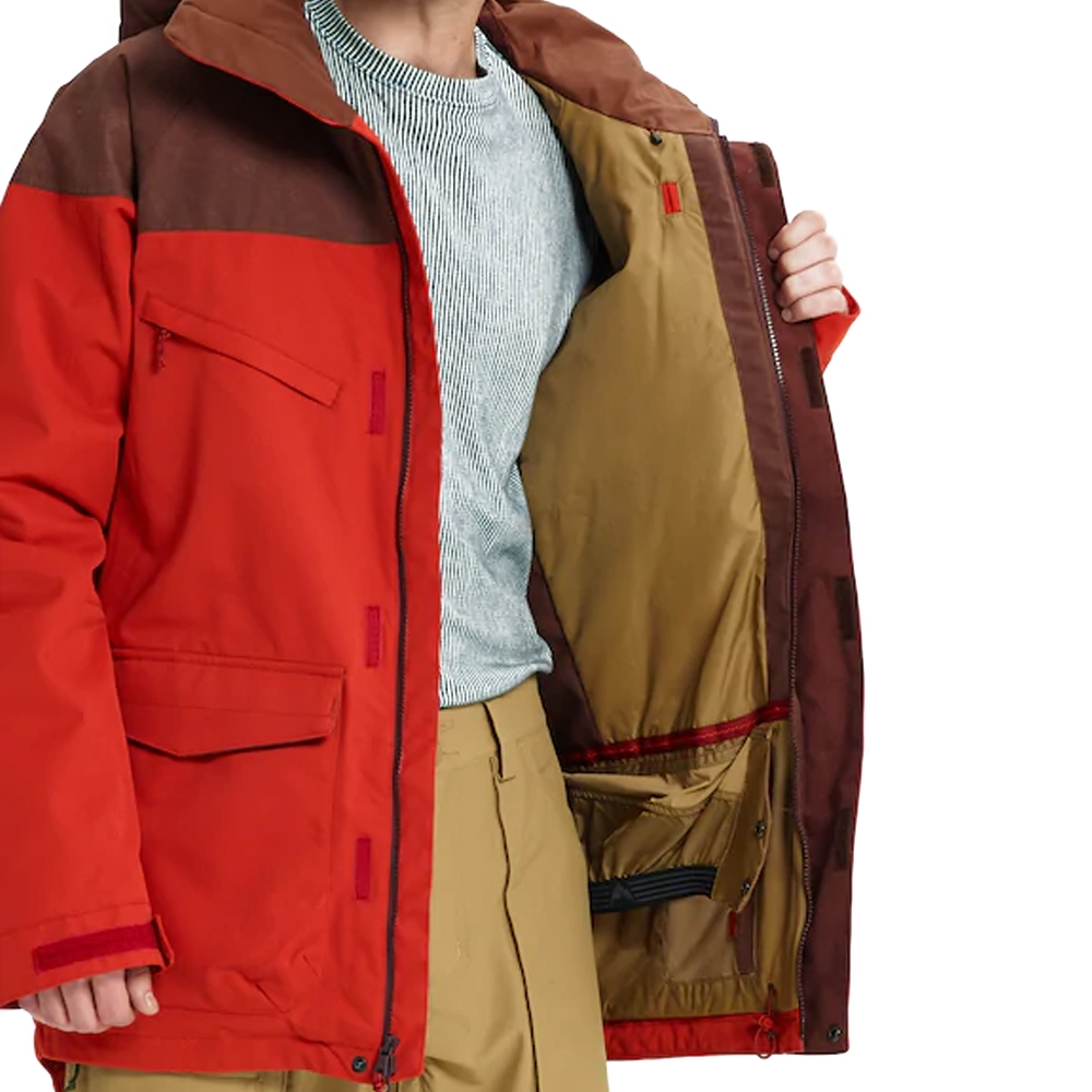 Burton Breach Jacket Bitters / Chestnut Waxed 2019
