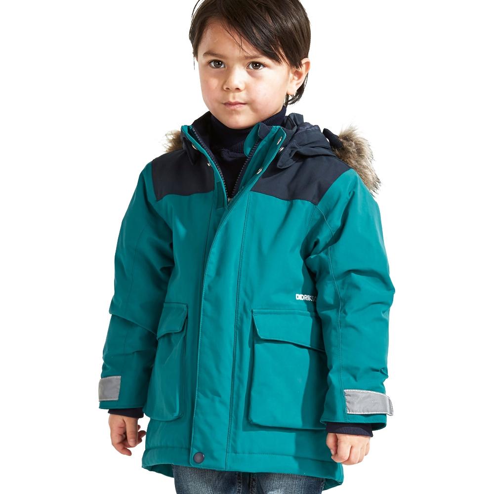 879e9c0c2d Didriksons Kure Kids Parka Glacier Blue 2019 - Snowtrax