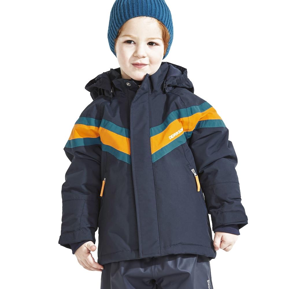 Didriksons Safsen Kids Jacket Navy 2019