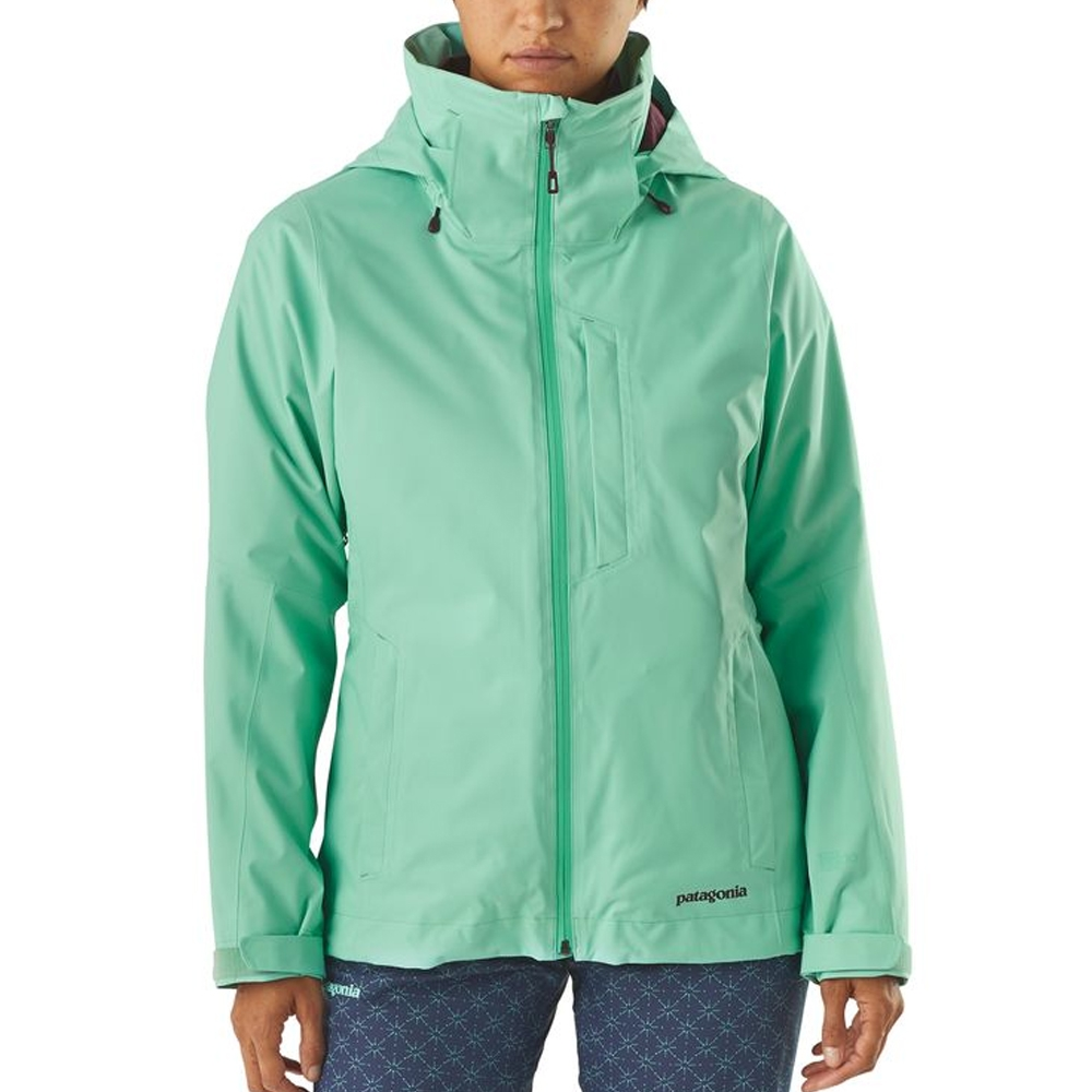 Patagonia 3 in 1 Snowbelle Womens Jacket Vjosa Green 2019