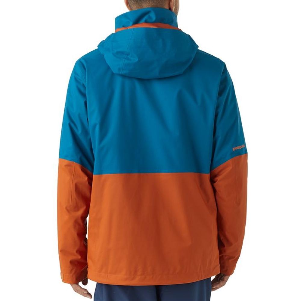 Patagonia 3 in 1 Snowshot Mens Jacket Big Sur Blue 2019