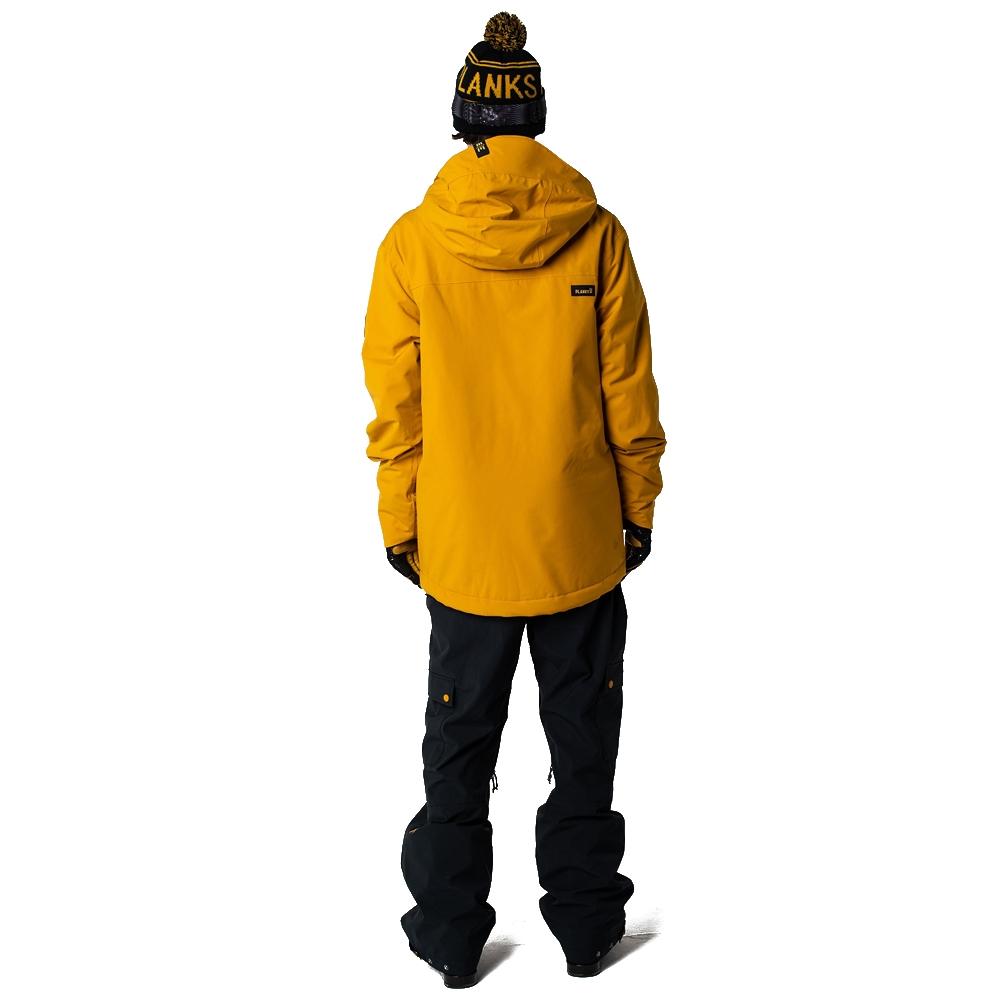 Planks Good Times Insulated Jacket Mustard 2019 - Snowtrax 7d38a7d14