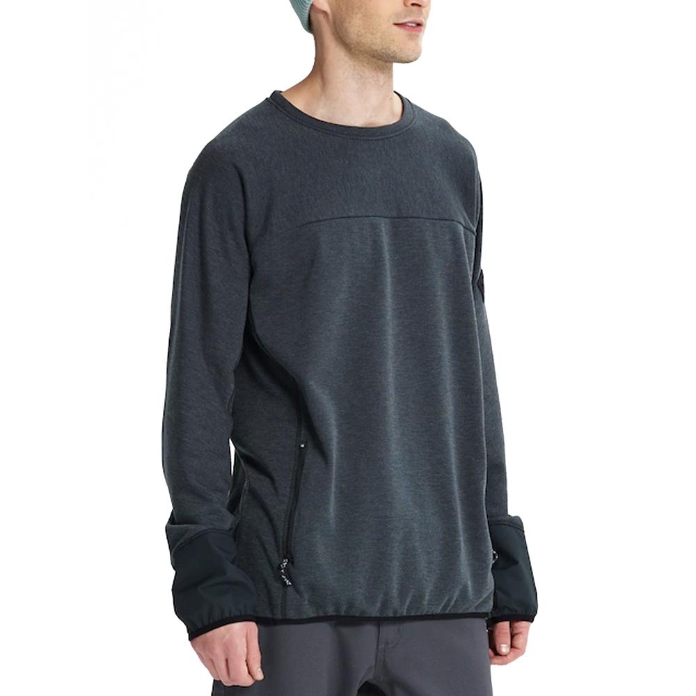 Burton Minturn Crew Sweatshirt True Black 2019
