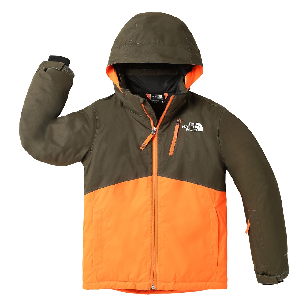 69bcd8c2d The North Face Youth Snowquest Plus Jacket Taupe Green 2019