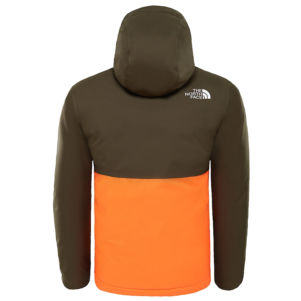 The North Face Youth Snowquest Plus Jacket New Taupe Green 2019