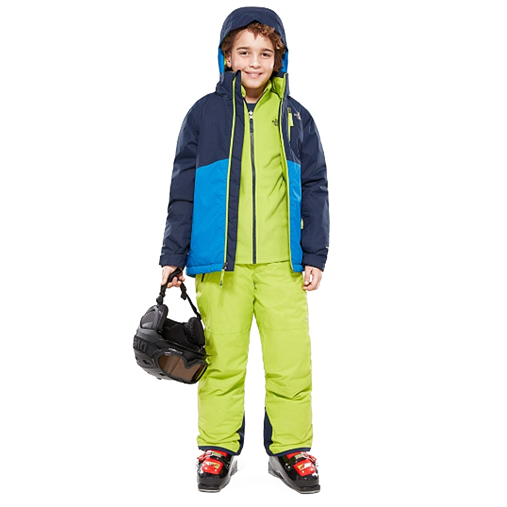 The North Face Youth Snowquest Plus Jacket Turkish Sea 2019