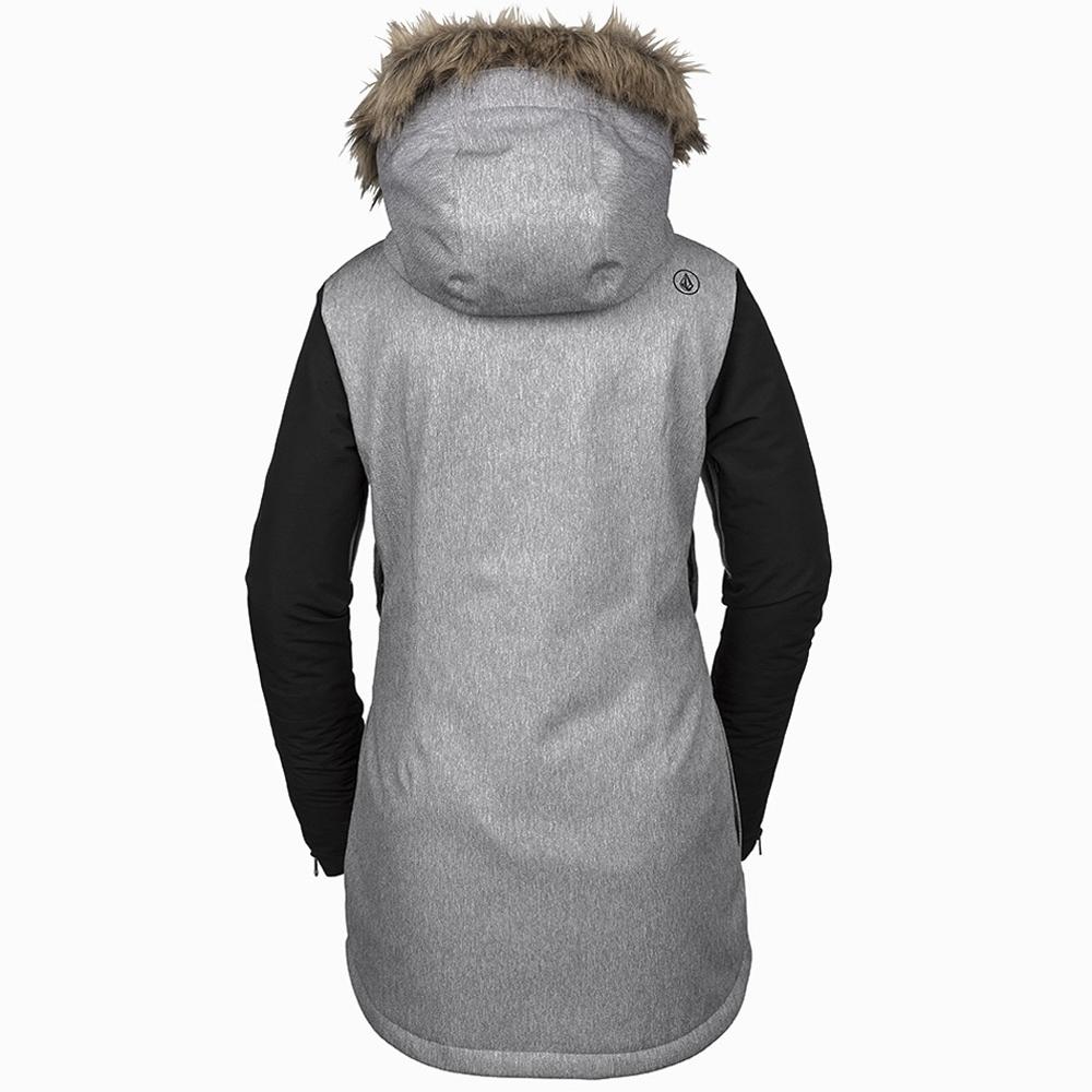 Volcom Fawn Insulated Womens Jacket Heather Grey 2019