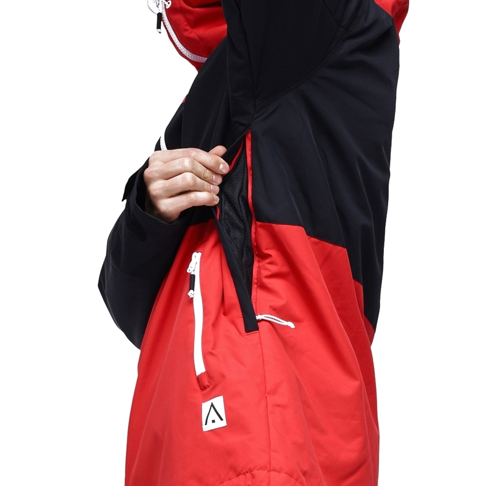 WearColour Block Jacket Red 2019
