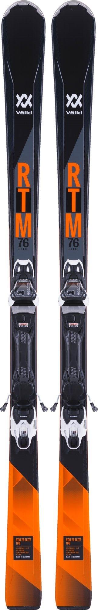 Volkl RTM 76 Elite Ski with vMotion2 Binding 2018