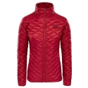 The North Face Ws ThermoBall Pro Jacket Rumba Red 2019