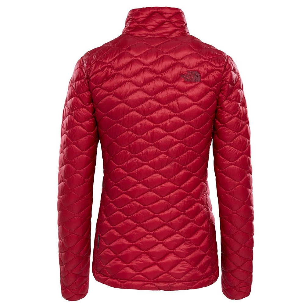 The North Face Womens ThermoBall Pro Hoodie Rumba Red 2019