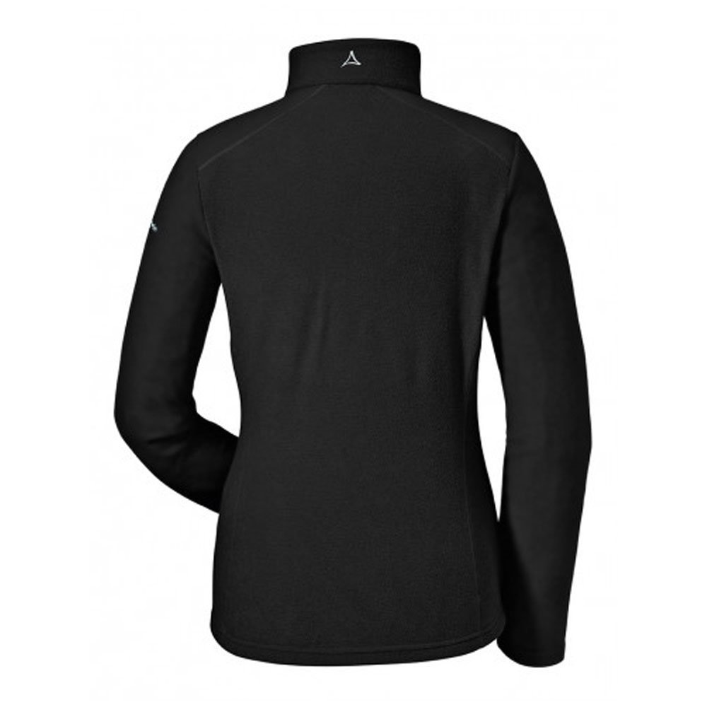 Schoffel Fleece Halfzip Sydney1 Black 2018