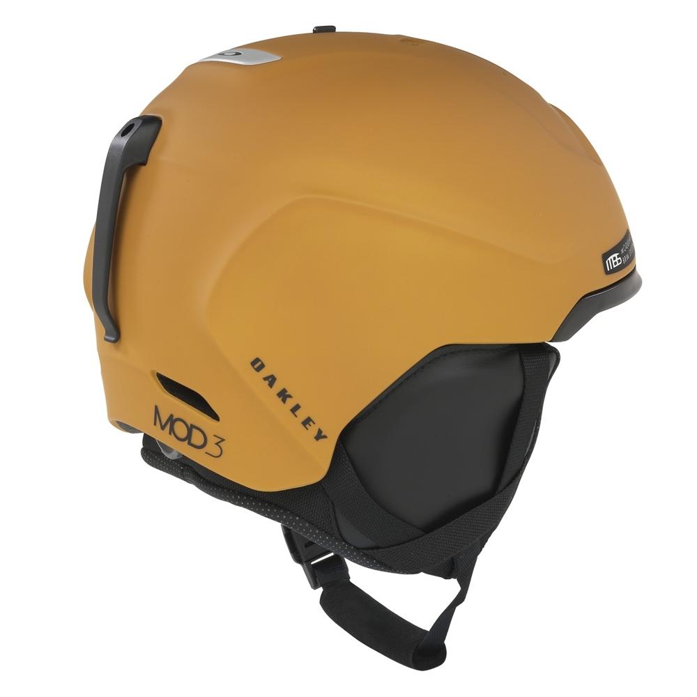 Oakley MOD3 Snow Helmet Gold Brown