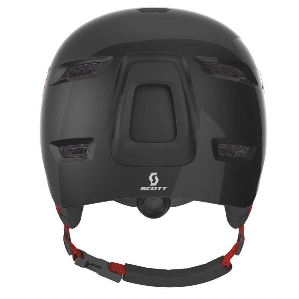 Scott Keeper 2 Junior Helmet Black / Red 2019