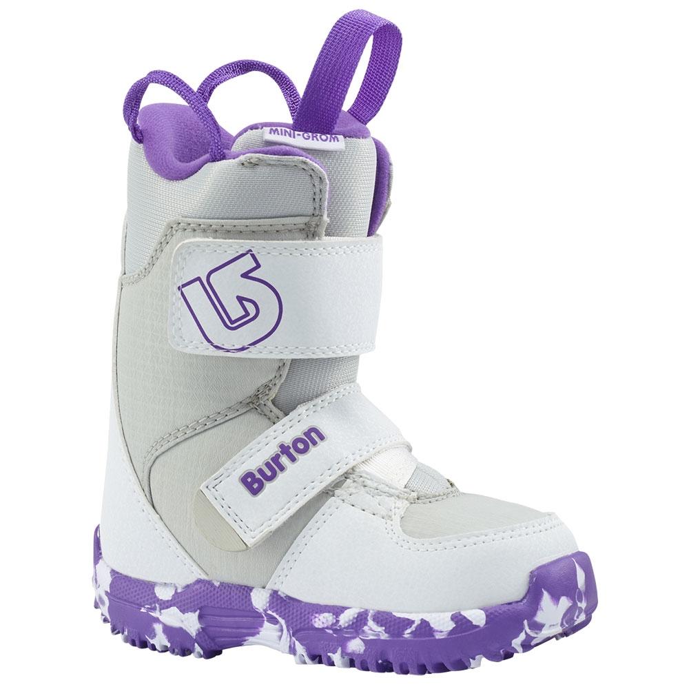 Burton Mini Grom Kids Boot White / Purple 2019
