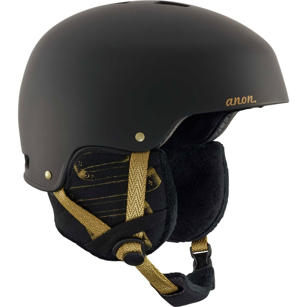 Anon Lynx Frontier Black Ladies Helmet 2018
