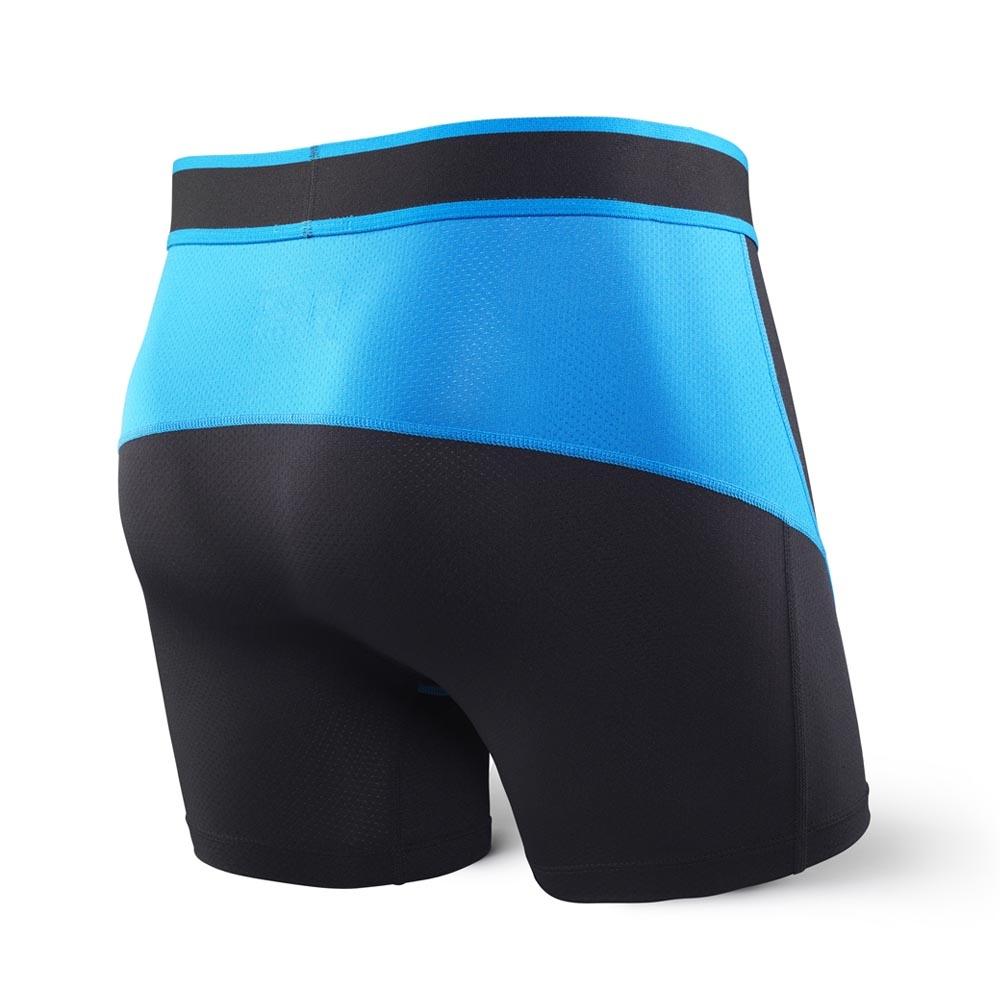 Saxx Kinetic Boxer Black/Electric Blue